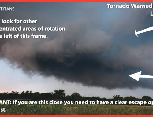 Two views of a tornado warned supercell and what we can learn from them | A storm anatomy guide