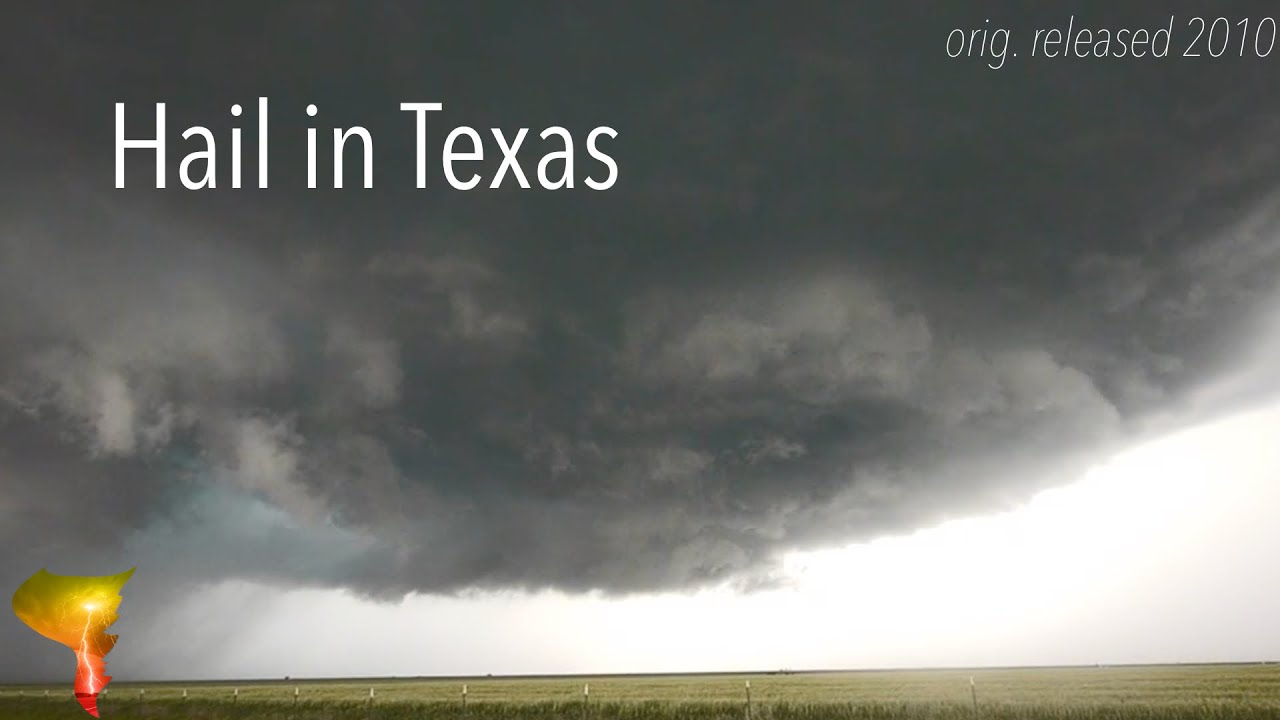 Tornado Titans Season One | Hail in Texas | May 18, 2010 Storm Chase