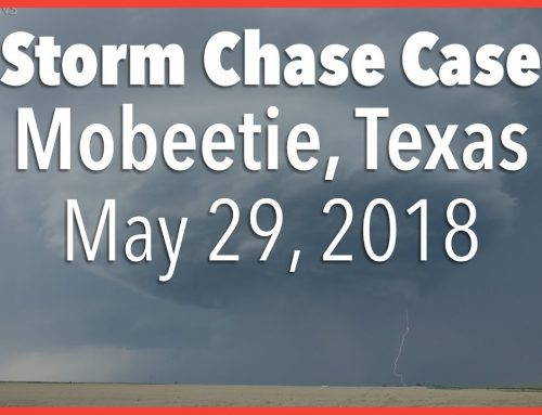 Storm Chase Case | Incredible Supercell Along the OK/TX Border | May 29, 2018