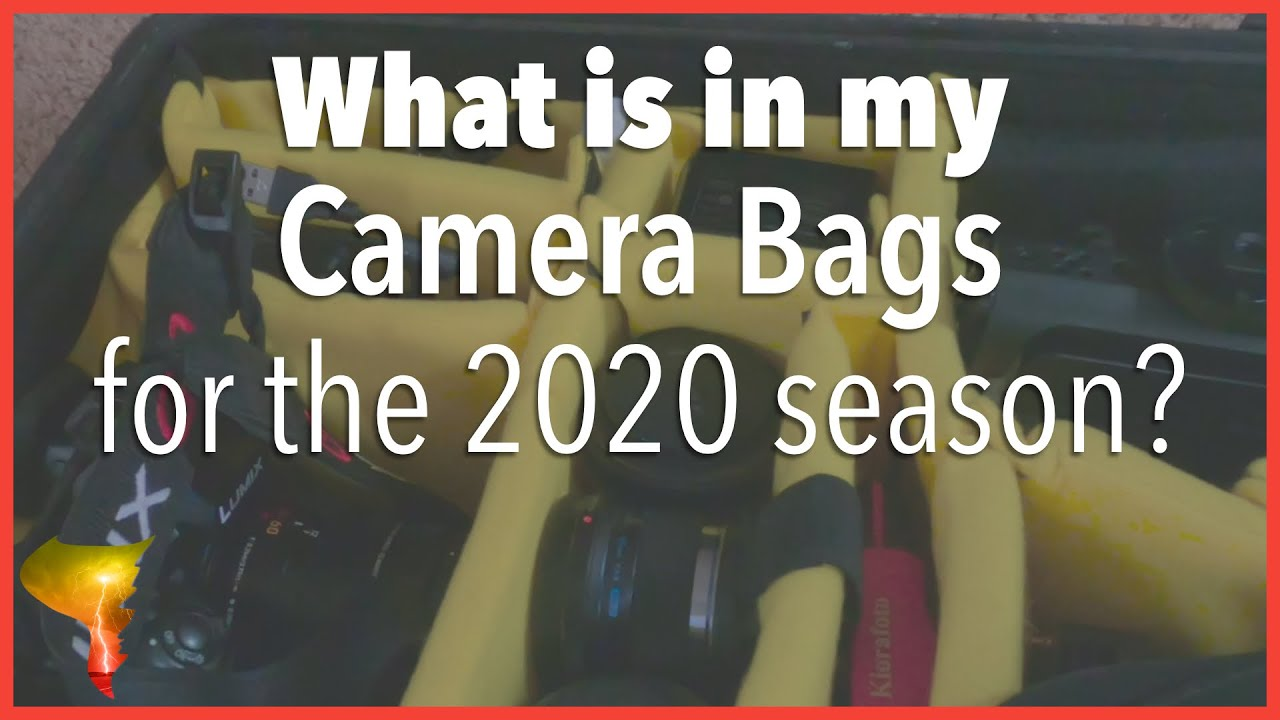 What gear am I using in 2020? | An overview of my camera bags